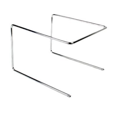 Excellante Pizza Tray Stand, Chrome Plated, 9-1/2 by 9 by 6-1/2-Inch by Excellant Chrome-plated Tray Stand