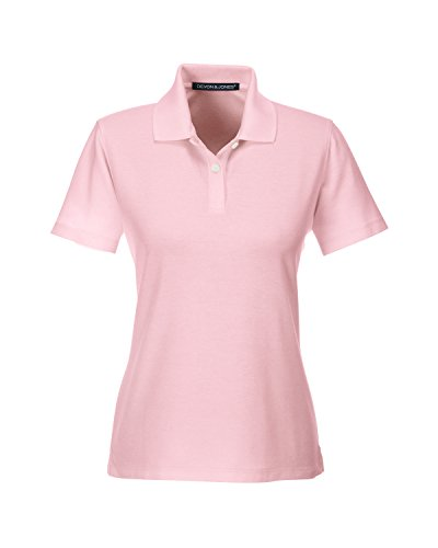 DJ Lady massif Couronne piq Polo Rose - Rose