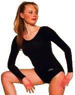 Gym-Dress mit langem Arm aus Lycra glanz (82 % Polyamid und 18 % Elasthan). Weitere Farben auf Anfrage