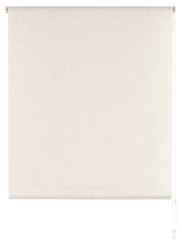 Blindecor Estor Enrollable Translucido Liso, Tela, Lino, 160 x 230 cm