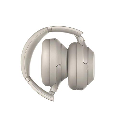 Sony WH-1000XM3 Bluetooth Noise Cancelling Kopfhörer (30h Akkulaufzeit, Touch Sensor, Headphones Connect App, Schnellladefunktion) silber - 6
