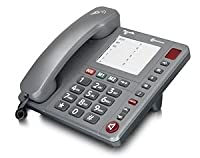 Amplicomms PowerTel 90 Big Button Amplified Corded Home Phone