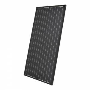 Biard 100W Watt 12V Black White Or Silver Framed Monocrystalline Solar PV Panel MCS Approved Ideal For 12/24v Battery Charger Charging - Caravan Boat Home Camping Or Shed