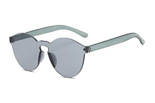 Daawqee Prämie Sonnenbrillen,Brillen,NEW Fashion Women Flat Sunglasses Luxury Brand Designer Sun Glasses Eyewear Candy Color Mirror UV400 Oculos De Sol 5