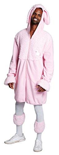 Kostüm Pudel rosa Herr Plüsch Karneval Junggesellenabschied Herrenkostüm Größe 52/54 (Rosa Pudel Kostüm)