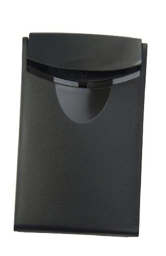 HAN Porte-cartes de visite COGNITO, noir en plastique, pour 20 cartes de visite, dans un format cartede credit, dimensions: (L)64 x (P)100 x (H)10 mm (2002-13)
