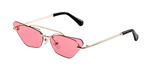 Hawkers Gafas de sol, Gold · Ligth Red Little Paparazzi, One Size Unisex