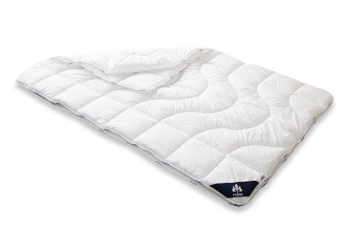 Badenia 03 649 730 140 Bettcomfort Steppbett, 4-Jahreszeiten, Irisette Micro Thermo, 135x200 cm, weiß