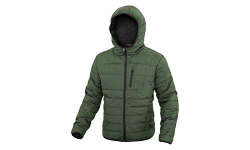 Giubbino Piumino DIADORA Uomo 100 Grammi Full Zip Cappuccio 3 Colori Art.089 ( Green Thyme - 54 / XXL)