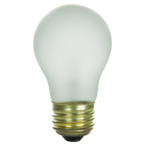 Sunlite 15A15/FR Incandescent 15-Watt, Medium Based, A15 Appliance Bulb, Frost by Sunlite
