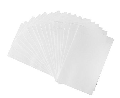 Preisvergleich Produktbild 25 kleine weiße Papiertüten; Flachbeutel mit 13 x 18 cm; für Gastgeschenke, Geschenke, Mitbringsel und vieles andere mehr
