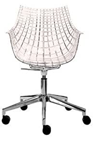 Driade - Meridiana fauteuil a roulette rose