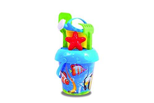 Adriatic 20x 33cm Beach Toys Acquario-Verfahren Eimer mit Gießkanne