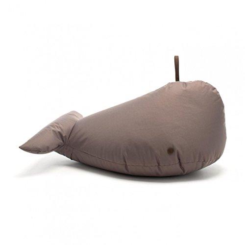 Sitting Bull 190060 Happy Zoo Ben Wal Sitzsack, braun 100% Polyester beschichtet LxBxH 92x47x70cm