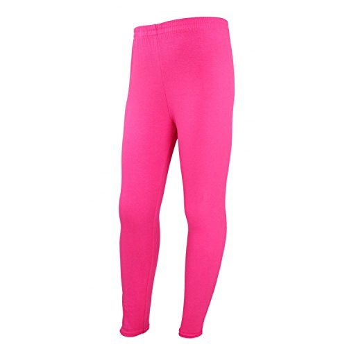 TupTam Mädchen Leggings Lange Leggins Blickdicht Baumwolle , Farbe: Pink, Größe: 152