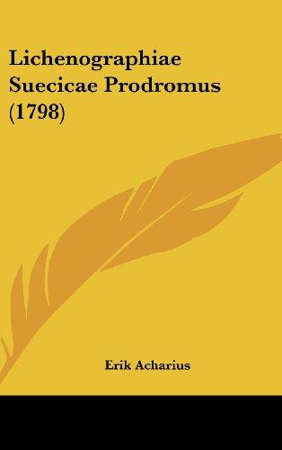 Lichenographiae Suecicae Prodromus (1798)