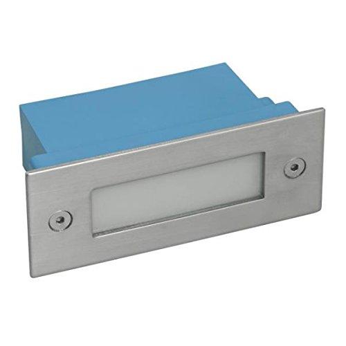 Aplique empotrable IP540.6Watt rectangular LED–Color Eclairage–Luz Blanca Cálida 3000° K