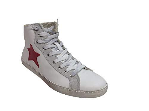 ri953936d scarpe sneakers alte uomo pelle via condotti