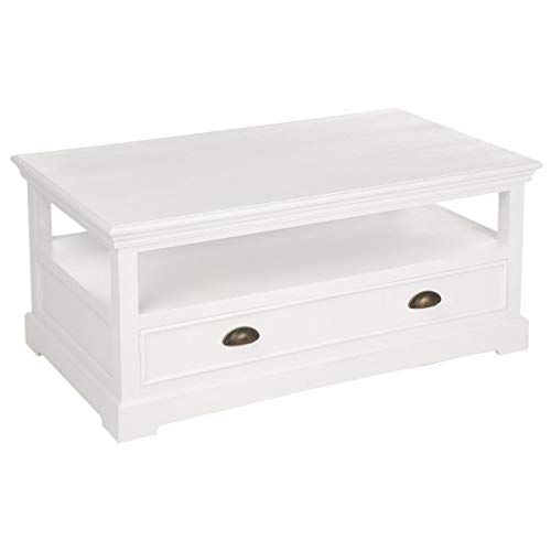 Conall TiroirCuisine 1 Table Atmosphera Basse Blanche QdCeWrBoEx