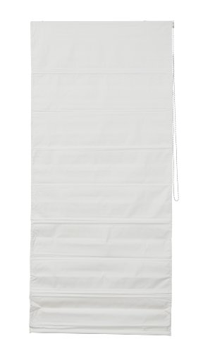 Wohn-Guide Raffrollo Verdunkelung, Blickdicht - Weiß 90 cm x 180 cm (B x L)