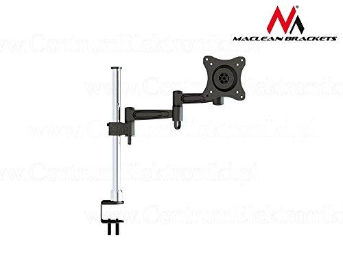 Maclean - mc-628  Halterung für Monitor Lcd Led Tv (33 -68 cm/13-27 Zoll, 15 kg, Vesa 75 und 100) -