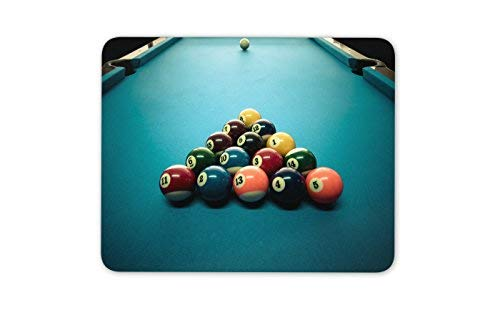 Ehrfürchtig Billiardtisch Mauspad Pad - Snooker Billard-Vati-Geschenk PC Computer # 8271