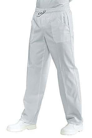 Pantalone sanitario bianco con elastico Isacco XS