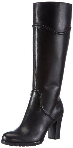 Geox D TRISH ST ABX Q, Stivali donna, Black - Schwarz (BLACK C9999), 38 (5 UK)