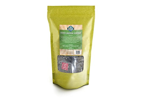 Kultaroma – Grüner Tee Darjeeling Risheehat, 60 Pyramidenbeutel mit Blatt-Tee, Teebeutel Maxipack