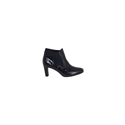 Heeled Ankle Boot Leni GREY CROC 7