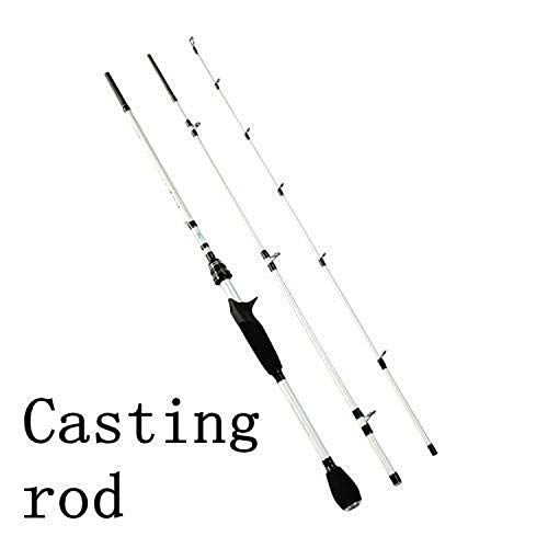 Small Rivulet Angel-Carbon-Faser 2.1m 3 Stück Spinning Casting Rods Tragbare Lure Reise, Gussteil-Rod -