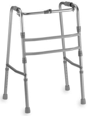 Andador caminador sin ruedas deambulador plegable