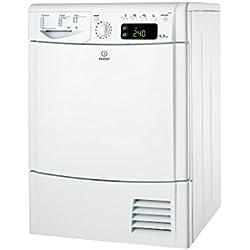 Indesit - IDCEG45B - Sèche Linge à Condensation - 8 kg - Sonde Électronique - Classe: B - Blanc