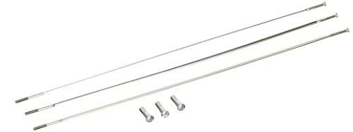 Zipp Brush (Zipp Speiche & Nippel CX Ray Straight Pull externe Silber 266 mm (3 Stück))