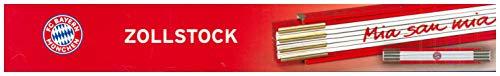 Mia-emblem (No Name (foreign brand) FCB Zollstock Mia san Mia, 2m, rot/ws)