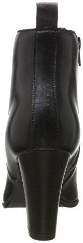 BIANCO - Elegante Stiefelette, Stivali Donna nero (nero)