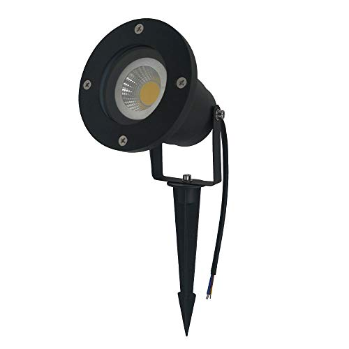 XYQY IP65 Outdoor Led Rasenleuchte mit GU10 LED Gartenlicht 3W 5W Led Landscape/Pathway Lights IP65 Aluminium Rasenleuchte MR16 Halter 5W SMD GU10 rot