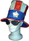 Chapeau américain à paillettes