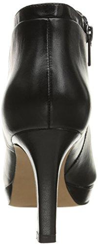 Clarks Delsie Stella Bootie Black Leather