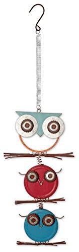 Sunset Vista Designs Stack Eule gefunden Objekte Bouncy Dekoration zum Aufhängen -