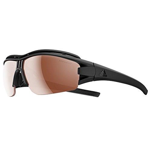 Adidas Brille evil eye halfrim pro ad07 - 9500 black matt LST Polarized (Large)