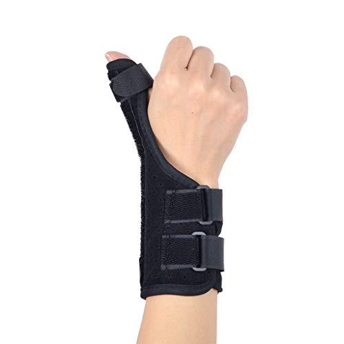 Stützorthese mit Schienen gegen Arthritis, Karpal- und Sehnenentzündung Die Daumenstütz-Handgelenkschienen-Orthese hilft bei Verletzungen durch Daumenschmerzen und passt für die linke und rechte Hand