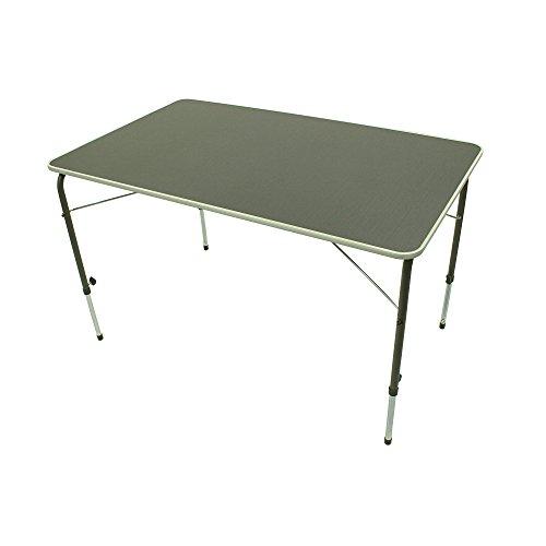 Portal Bob XL Campingtisch 115x70cm 4-6 Mann Klapptisch Gartentisch Reisetisch stufenlos verstellbar