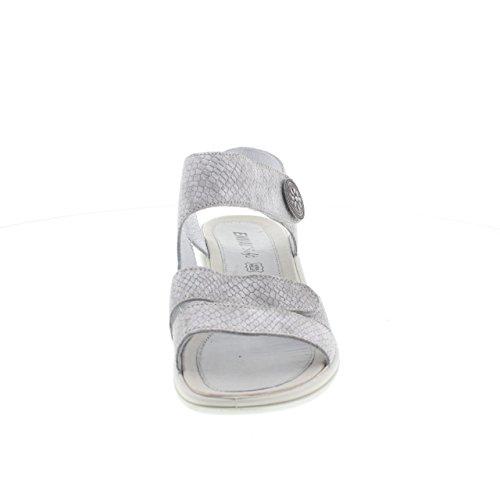 Enval 7969700 Sandalo Donna Pelle Visone argento - 600