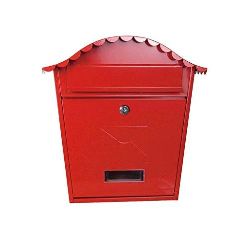 Wdwfz Wandhalterung Briefkasten Briefpost Abschließbarer Briefkastenhalter Sicher