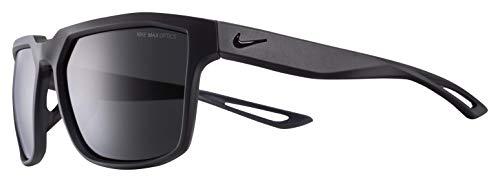 Nike Herren Bandit Sonnenbrille, Mattgrau mit dunkelgrauen Gläsern