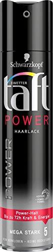 3 Wetter Taft Haarlack Power mega starker Halt 5, 5er Pack (5 x 250 ml)