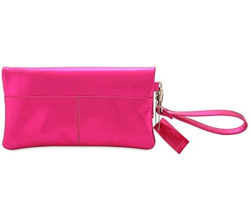HYDESTYLE, Borsetta da polso donna Multicolore Multicolore, Rosa (Multicolore) - LB12 Rosa