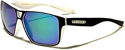 Biohazard Gafas de Sol Deporte - Fashion - Ciclismo - Mtb - Esquí - Running - Tenis - Moto / Mod. Meribel Negro