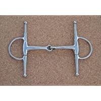 Full Cheek Jointed Snaffle, N/A, 5 1/2